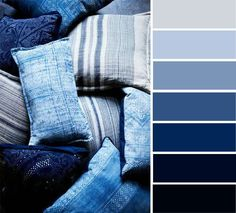 Indigo color palette , shades of blue color palette #colorpalette #indigo color palette