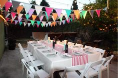 easy outdoor party