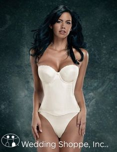Wedding lingerie should you wear a corset under your for What to wear under wedding dress corset