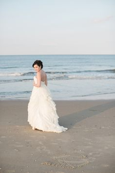 Inspired by the simple, yet profound nature of the sea, we love the coastal details and natural beauty in this Virginia Beach coastal bridal session! Hamptons Wedding, The Hamptons, Beach Wedding Attire, Wedding Dresses, Hampton Roads, Bridal Session, Virginia Beach, Coastal, Tulle