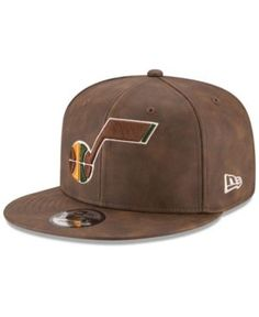 New Era Utah Jazz Butter So Soft 9FIFTY Snapback Cap - Brown Adjustable  Utah Jazz 83aca9a1f