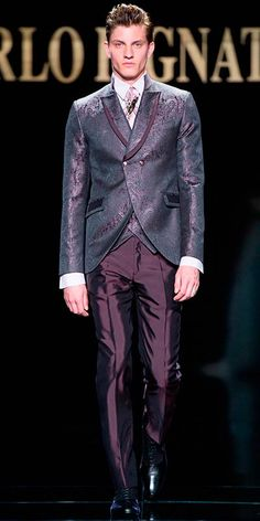 La exclusividad de la Haute Couture ya no es un término que se pueda sólo referir a las mujeres, ahora el nuevo concepto de la tradición artesanal de un buen traje se actualiza a territorio masculino gracias a Carlo Pignatelli