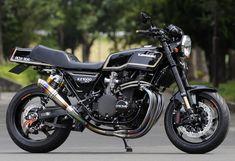 RCM-304 / KZ1000MK-Ⅱ Custom Street Bikes, Custom Motorcycles, Custom Bikes, Street Fighter Motorcycle, Motorcycle Art, Bike Garage, Kawasaki Bikes, Moto Car, Cafe Racing
