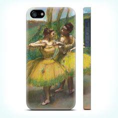 Чехол ACase для iPhone 5 | 5S Two Dancers in Yellow купить в интернет-магазине BeautyApple.ru.