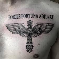 Fortis Fortuna Adiuvat Tattoo Pesquisa Google Tattoos Compass Tattoo Fish Tattoos