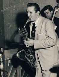 Serge Chaloff, leading baritone sax player of the era, brought bop to the low horn. He was a member of Woody Herman's band and part of the Four Brothers sound. His grandfather was a cantor.