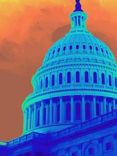The U.S. Capitol Building, Washington DC