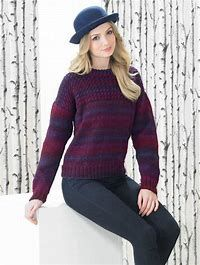 Best Marble DK Pattern Leaflet in Main Website Woman's long-sleeved crew neck pullover with cables on front yoke. Sweater Knitting Patterns, Crochet Patterns, Friends Instagram, Line Shopping, Your Photos, Knit Crochet, Crew Neck, Turtle Neck, Plus Size