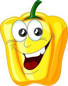 View album on Yandex. Vegetable Cartoon, Funny Fruit, Fruit Cartoon, Food Clipart, Smileys, Fruit Art, Autumn Activities, Fruit And Veg, Food Humor