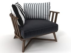 paola navone gray 07 armchair - Google Search