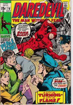 Daredevil 70 1964 1st Series  November 1970  Marvel Comics