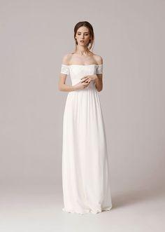 Wedding dress by Anna Kara bridal collection 2016 2016 Wedding Dresses, Bridal Dresses, Wedding Gowns, Bridesmaid Dresses, Dresses 2016, Chic Wedding, Wedding Bride, Wedding Styles, Summer Wedding
