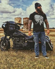 Badass Beard, Epic Beard, Sexy Beard, Great Beards, Awesome Beards, Scruffy Men, Harley Bikes, Long Beards, Easy Rider