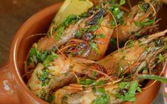 chilli prawns with garlic