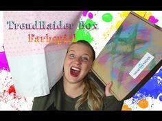 """TrendRaider Box """"Farbspiel"""" [Unboxing + unendlich BlaBla] - YouTube"""