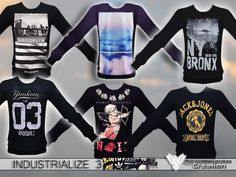 Pinkzombiecupcakes' Industrialize 3 Pack Sweatshirts