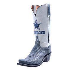 Dallas Cowboys Lucchese Womens Stonewash Navy Lizard Boot - Width B Dallas Cowboys Boots, Dallas Cowboys Pro Shop, Dallas Cowboys Women, Cowboys Football, Cowboy Gear, Cowboy Boots, Crocodile Boots, Cowboy Outfits, Navy Women
