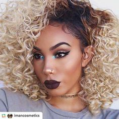 Visit IMANCosmetics.com #GPRepost,#reposter,#notetag @imancosmetics via @GPRepostApp ======> @imancosmetics:Were loving this B.O.M.B look created by beauty blogger @foreverflawlyss! She applied IMAN Cosmetics Oil Control Primer for a set base, Blackest Brown Eyebrow Pencil and Luxury Contour Trio to sculpt her cheeks. Products available on IMANCosmetics.com. #BeautyForYourSkinTone