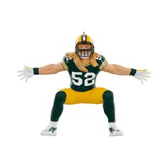 Clay Matthews #52 Green Bay Packers Football Legends Available: October 2015  Price:  $17.95