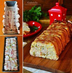 Gabriella kalandjai a konyhában :): Karfiolos-borsós csirkemell alagút