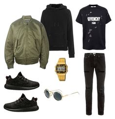 """""""Untitled #15"""" by martin-panek on Polyvore featuring adidas, adidas Originals, Topman, Givenchy, Casio and Cazal"""