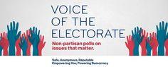 Check out my blog post! Voice of the Electorate (V.O.T.E.)!   https://jtwb768blog.wordpress.com/2017/03/16/voice-of-the-electorate-v-o-t-e/?utm_campaign=crowdfire&utm_content=crowdfire&utm_medium=social&utm_source=pinterest