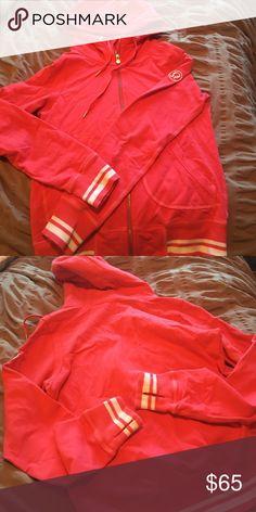 Lululemon Jacket Pink Lululemon Jacket barely worn. Great condition!! lululemon athletica Jackets & Coats