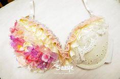 Floral Fairy LED Light up Bra Costume Dance Rave EDC Beyond Wonderland Tomorrowworld Groove Ultra Ho