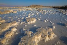The Dead Sea (lowest point on Earth!)