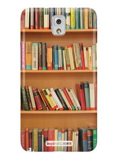 Bookshelf - Book Lover Case for Galaxy Note 3