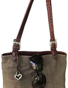 4e7e51d12c65 Brighton Beige with Leather Tan Trims Nylon Tote. Get one of the hottest  styles of