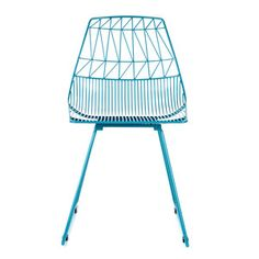 Ethel Side Chair Peacock Blue by Bend | Fab.com