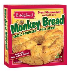 Garlic Parmesan Monkey Bread. YUMMY.