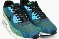 Nike Blue Air Max 90 JCRD Sneakers   Man of Many