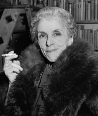 "Karen Blixen, better known as Isak Dinesen, Who lived and wrote ""Out of Africa"" among other novels."
