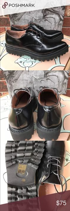 JEFFREY CAMPBELL Seymour Oxford Shoes New without box! Jeffrey Campbell Shoes