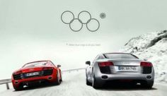 Brands are creating war rooms during big events to produce real-time slam dunks and whoever created the ad for Audi, dunked it. It's playing off the Olympic ring mishap at opening ceremonies - how there were four rings instead of five. Fits quite nice with Audi's logo….