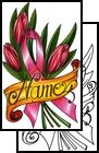 ribbon Tattoo Design (AAF-11585)
