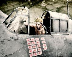 US Marine, Tech.Sgt. R.W.Greenwood - Grumman F4F Wildcat -… | Flickr