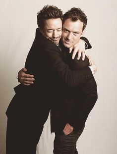 Great mates: Sherlock and Watson (Robert Downey Jr and Jude Law)