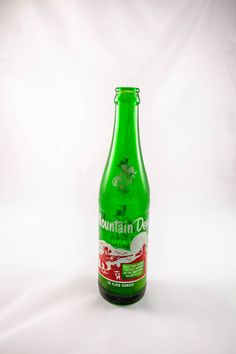 A personal favorite from my Etsy shop https://www.etsy.com/listing/267631893/vintage-mountain-dew-10oz-bottle-acl
