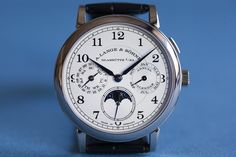 A. Lange & Söhne 1815 Annual Calendar in white gold
