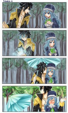 Kissing In the Rain by Rchella on DeviantArt
