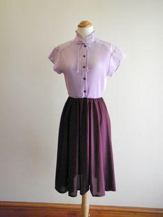 Colorblock ruffle dress ♥