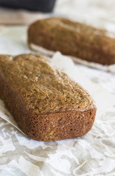 Healthy Zucchini Bread. Dairy-free bread recipe. A healthy natural sugar free bread recipe that's naturally sweetened using coconut sugar and spelt flour.