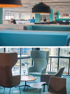 Amarelle Office Interiors // The Planning Inspectorate Bristol Office Fit Out, Cool Office, Workplace Design, Commercial Interiors, Office Interiors, Large Black, Bristol, Offices, Design Inspiration