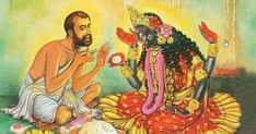 Maa Kali used to talk with Shri Ramakrishna Paramhansa and also eat food offered by him.