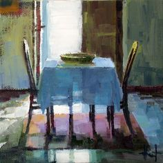 In a French Hallway by Liza Hirst