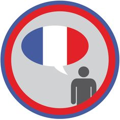 Lifescouts: French Language Badge    Oui!  Je parle francais et j'espere que je parle francais tous les jours mais je n'a pas l'opportunitie mainentant :(    (Yes, I speak French and I wish that I could speak French more often, but I don't have the chance.)