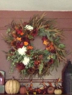 Fall decor. This was fun to make